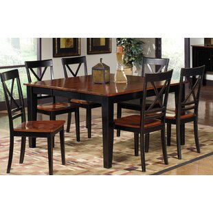 Picardy Solid Wood Dining Table August Grove