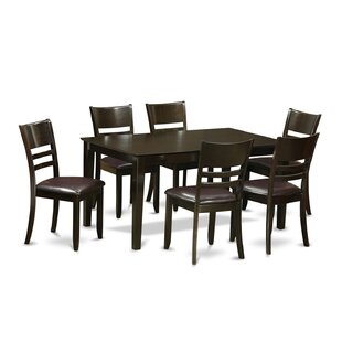Capri 7 Piece Dining Set Wooden Importers