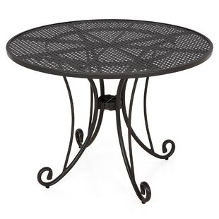 Wrought Iron Dining Table By Ophelia & Co.
