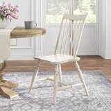 Baleine Slat Back Side Chair in White (Set of 2) by Kelly Clarkson Home