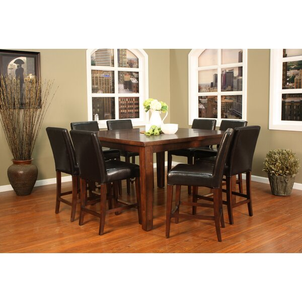 American Heritage Cameo 9 Piece Counter Height Pub Set | Wayfair