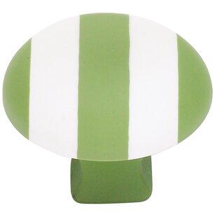 Striped Mushroom Knob