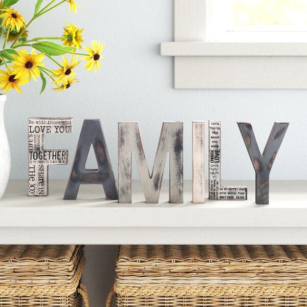 Family Block Letters Wayfair