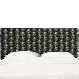Wilmore Box Seam Upholstered Panel Headboard by Winston Porter