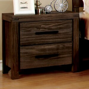 Blackburn 2 Drawer Nightstand