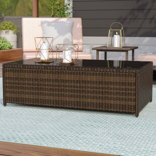Belton Wicker Coffee Table