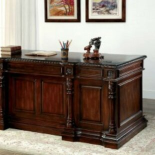 Bettie Traditional L-Shape Executive Desk