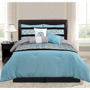 Keeling 7 Piece Comforter Set