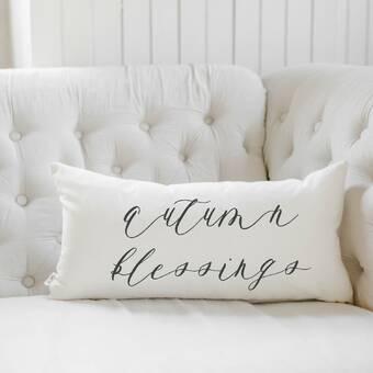 Pcb Home Snuggle Up Cotton Lumbar Pillow Cover Wayfair
