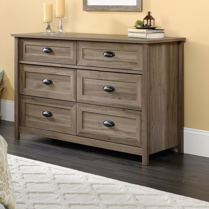 the best attitude 81938 44e5d Rossford 6 Drawer Double Dresser