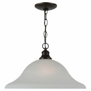 Charlton Home Hartford 1-Light Inverted Pendant