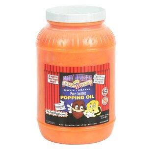 Premium Yellow Coconut Popcorn Popping Oil