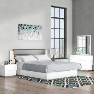 Langridge Platform 5 Piece Bedroom Set by Wade Logan Best
