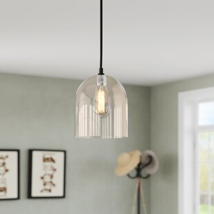 Ebern Designs Mccue 1-Light LED Bell Pendant