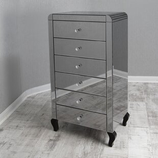 Pina 6 Drawer Chest Of Drawers By Canora Grey