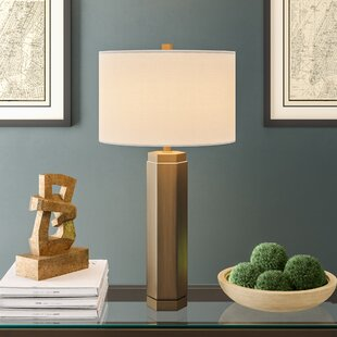 Simonton Vintage Hex Metal 29 Table Lamp