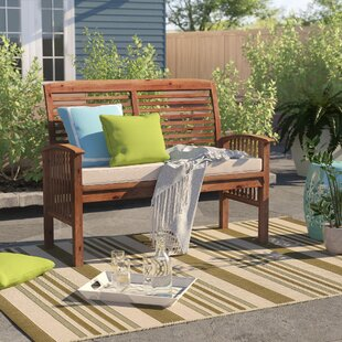 Redhill Patio Loveseat with Cushion by Sol 72 Outdoor