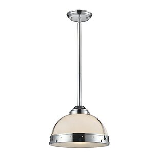 Ebern Designs Hamel 1-Light Bowl Pendant