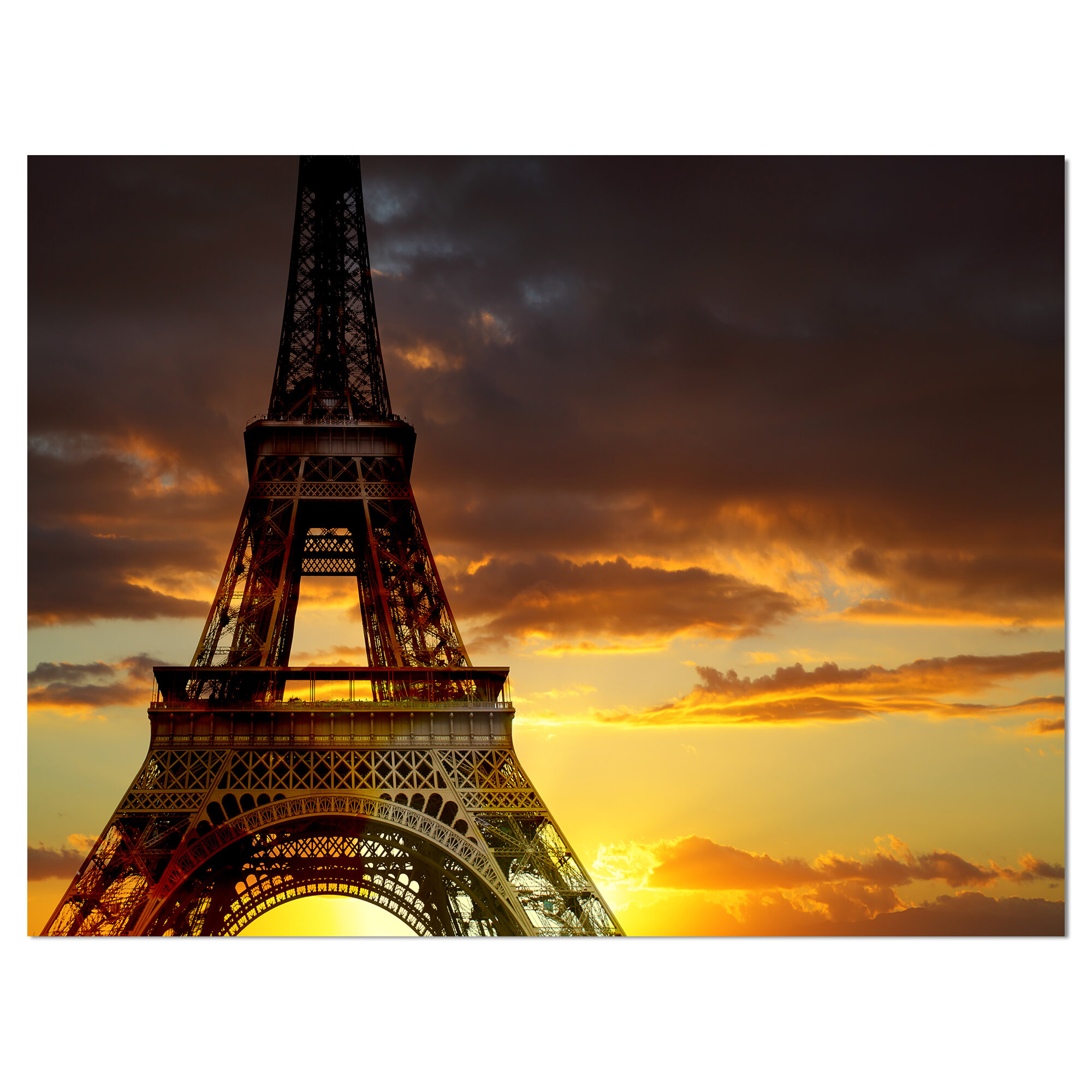 France  reflections Photo print canvas choose your size The Beauty of  Paris