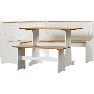 dining nook furniture. Unique Nook Birtie 3 Piece Breakfast Nook Dining Set With Furniture