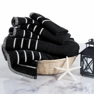 Superb Black Bath Towels Youu0027ll Love | Wayfair