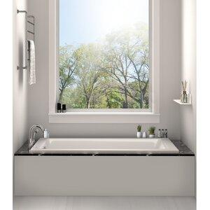 shower and soaking tub combo. Drop In Bathtub 32  x 48 Soaking Tub Shower Combo Wayfair