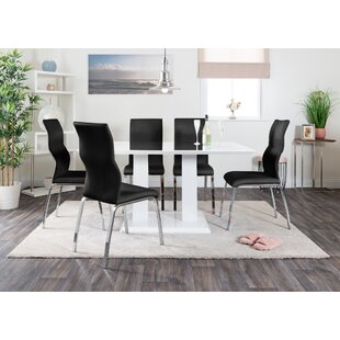 Hearld Dining Set With 6 Chairs By Wade Logan
