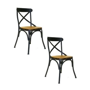 Gracie Oaks Clair Side Chair (Set of 2)