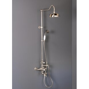 Strom Plumbing by Sign of the Crab Thermostatic Exposed Tub and Shower Set with with Lever Handle