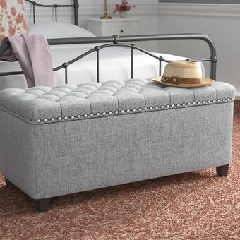 Marvelous Darby Home Co Beames Storage Ottoman Reviews Wayfair Customarchery Wood Chair Design Ideas Customarcherynet