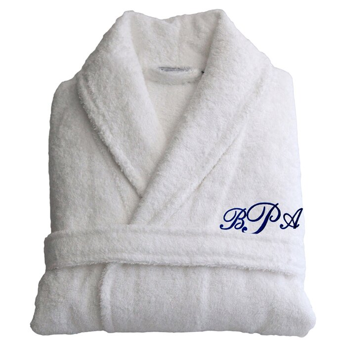 ff34a7b858 Linum Home Textiles Personalized Large Extra Large Terry Bathrobe in ...