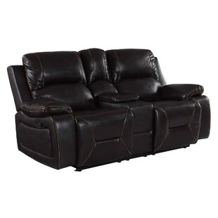 Shop Ullery Living Room Console Reclining Loveseat by Winston Porter