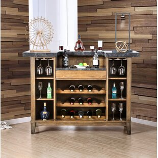 Pennsport Bar with Wine Storage by Loon Peak