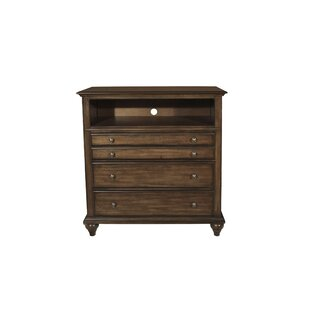 Van Buren 4 Drawers Media Chest