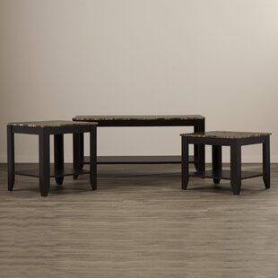 Winston Porter Christia 3 Piece Coffee Table Set
