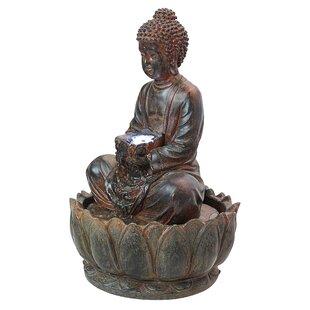 Wildon Home ® Resin Buddh..