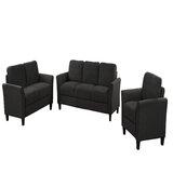Courtlyn 3 Piece Standard Living Room Set by Red Barrel Studio®