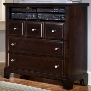 Cedar Drive 3 Drawer Media Chest