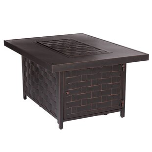 Armstrong Aluminum Propane Fire Pit Table
