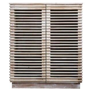 Klar Reclaimed Wood 2 Door Accent Cabinet by Bungalow Rose
