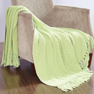 Meyer Knitted Tweed Throw Blanket