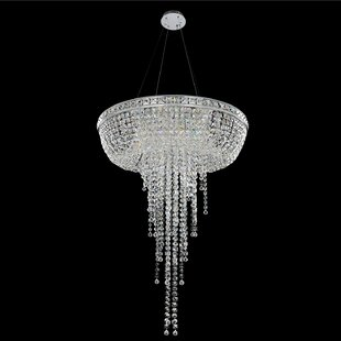 Cascata 8-Light Chandelier by Allegri by ..