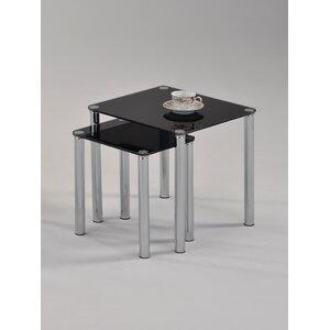 2-tlg. Satztisch-Set Alma von Hokku Designs