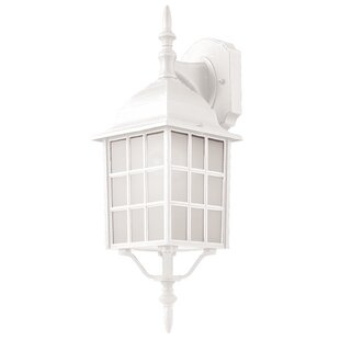 Loon Peak Woodard 1-Light Outdoor Wall Lantern