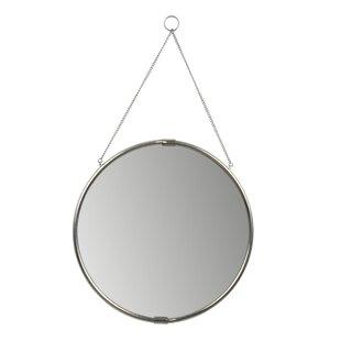 modern contemporary round hanging mirror allmodern