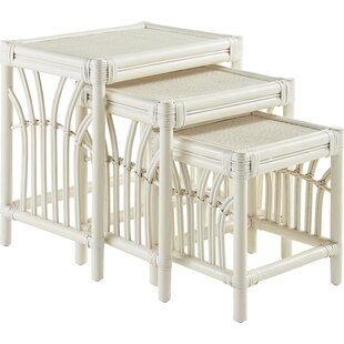 Stough 3 Piece Nesting Tables by Bay Isle Home Wonderful