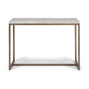 Studebaker Geometric Console Table by Orren Ellis
