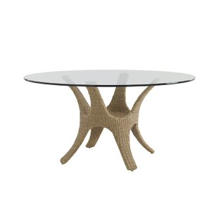 Aviano Wicker Rattan Dining Table by Tommy Bahama Outdoor 2019 Coupon