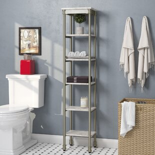 nauman 13 w x 60 h bathroom shelf - Bathroom Shelf Unit