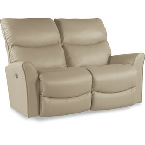 Rowan Power-Recline-XRW Reclina-Way? Full Leather Reclining Loveseat by La..
